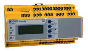 The multi-channel ground fault protection relay RCMS490