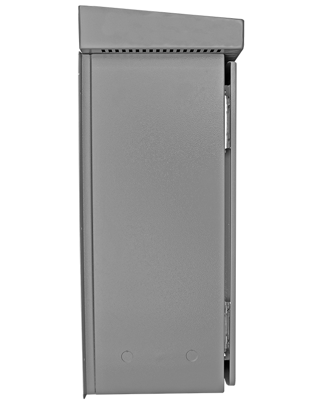 A side view of the Basic HRG in an HR1 enclosure