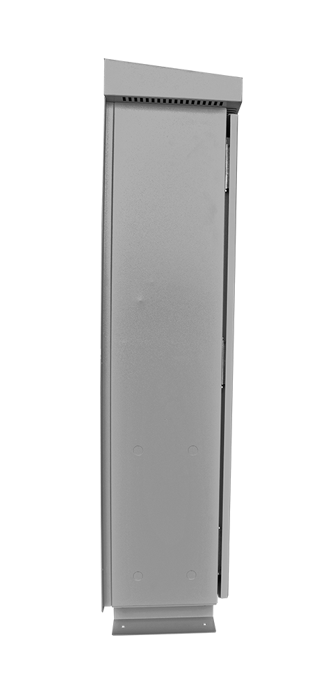 A side view of the Intermediate HRG in an HR2 enclosure